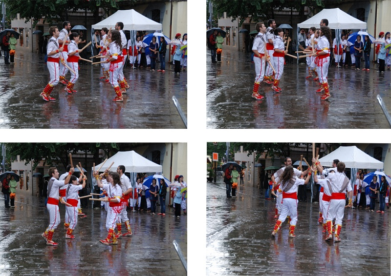 DANCING IN THE RAIN##BALLANT SOTA LA PLUJA